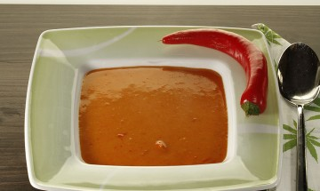 Rote-Paprika-Suppe