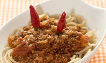 Spaghetti Bolognese Diavolo