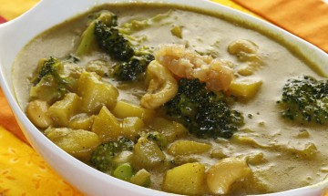 Kartoffel-Lauch-Broccoli-Curry