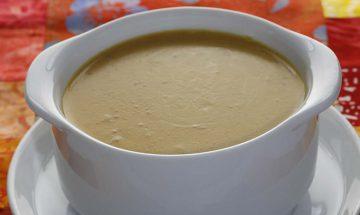 Süßkartoffel-Karottensuppe mit Curry